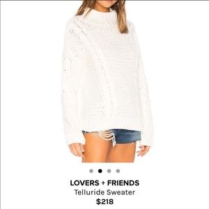 Lovers and Friends Telluride Sweater XS